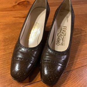 Salvatore Ferragamo heels size 4 1/2